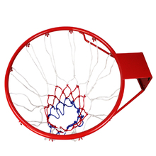 Professional solid basketball ring red thick solid basketball hoop standard ring