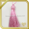 Fancy curtain accessories pink bridal decorative tassel fringe FT-029