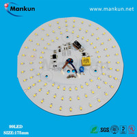 High quality aluminum plate smd lighting led pcb for led ceiling light 24w