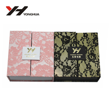 2013 Elegant paper sweet gift box design with graceful printing
