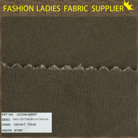 suit fabric with high quality in 100% cotton content plain weave solid duck canvas fabric