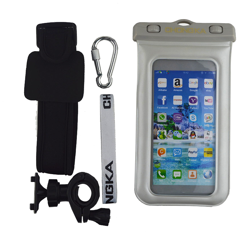 Hotting sale PVC waterproof bag with armband for Iphone