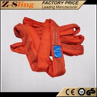 Z-Sling 10 ton web sling Polyester Round Lifting Sling manufacturer with low price
