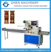 ZE-350D horizontal flow ice lolly pillow packing machine