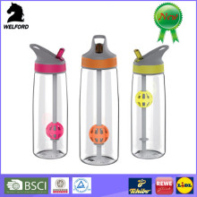 high quality creative plastic tritan protein shaking bottle