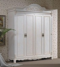 wooden ready made wardrobes white