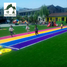 Ground decorative leisure Outdoor artificial grass with cheap price
