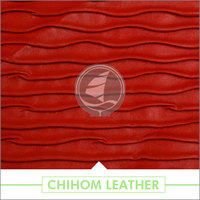Multiple patterns Anti-flame fabric washable leather