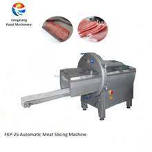 FKP-25 Wholesale industrial meat slicing machine,pork slicer machine,meat cutter machine for sale