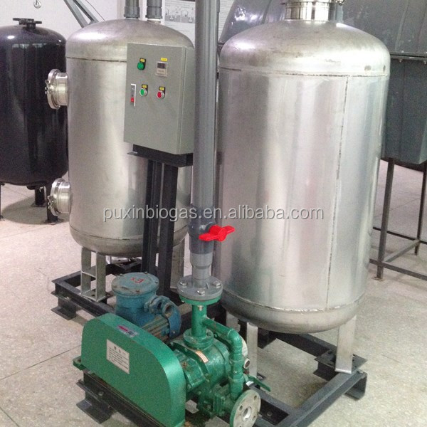 Easy assembling excellent structured long lifespan biogas system filter