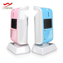 Personal custom mini electric table fan heater for gift