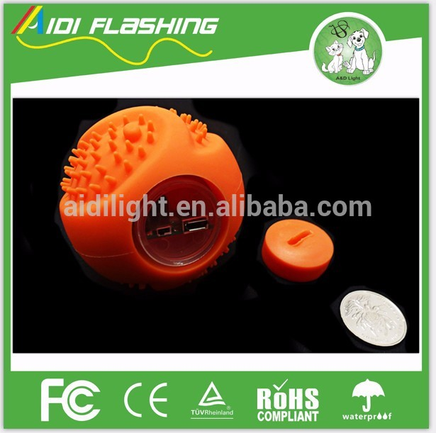 New design promotional led silicone ball for fun