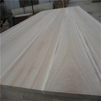 AA grade paulownia edge glued wood board