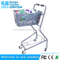 Europe Trolley Supermarket Shopping Cart And Handcart