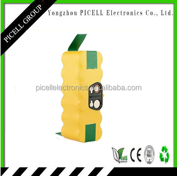 OEM/ODM replacement for vacuum cleaner 500 series Ni-MH SC3500mAh 14.4V rechargeable battery pack