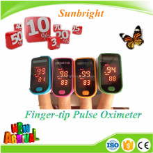 marked finger pulse oximeter, Oximetro del pulso SPO2 monitor
