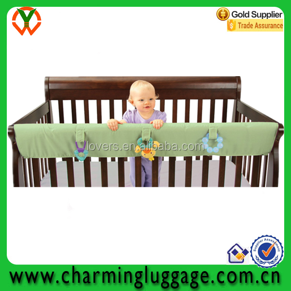 baby crib rail cover for convertible cribs