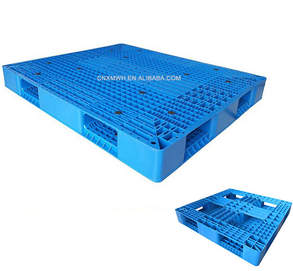 Cheap Heavy-duty Steel Reinforced Plastic Pallet for Factories and Garages