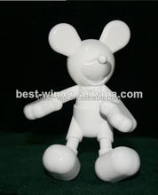 Branco plastic protótipo de action figure para <span class=keywords><strong>Mickey</strong></span> Mouse