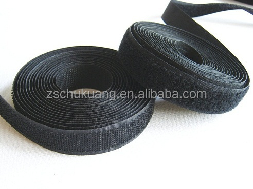 20mm black hook and loop for sleep eye mask