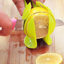 Amazon best selling Tomato&Potato Slicer, Multifunctional Handheld Lemon Round Slicer Fruit Vegetable Cutter