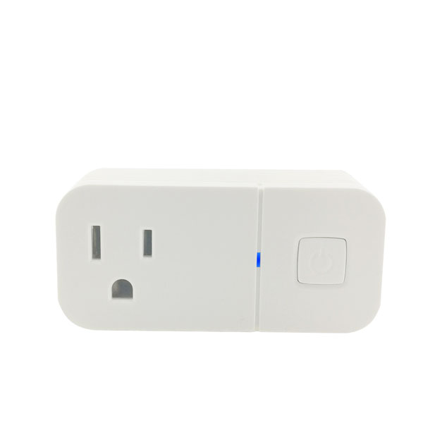 Intelligent wireless app alexa and google assistant smart <strong>plug</strong> wifi