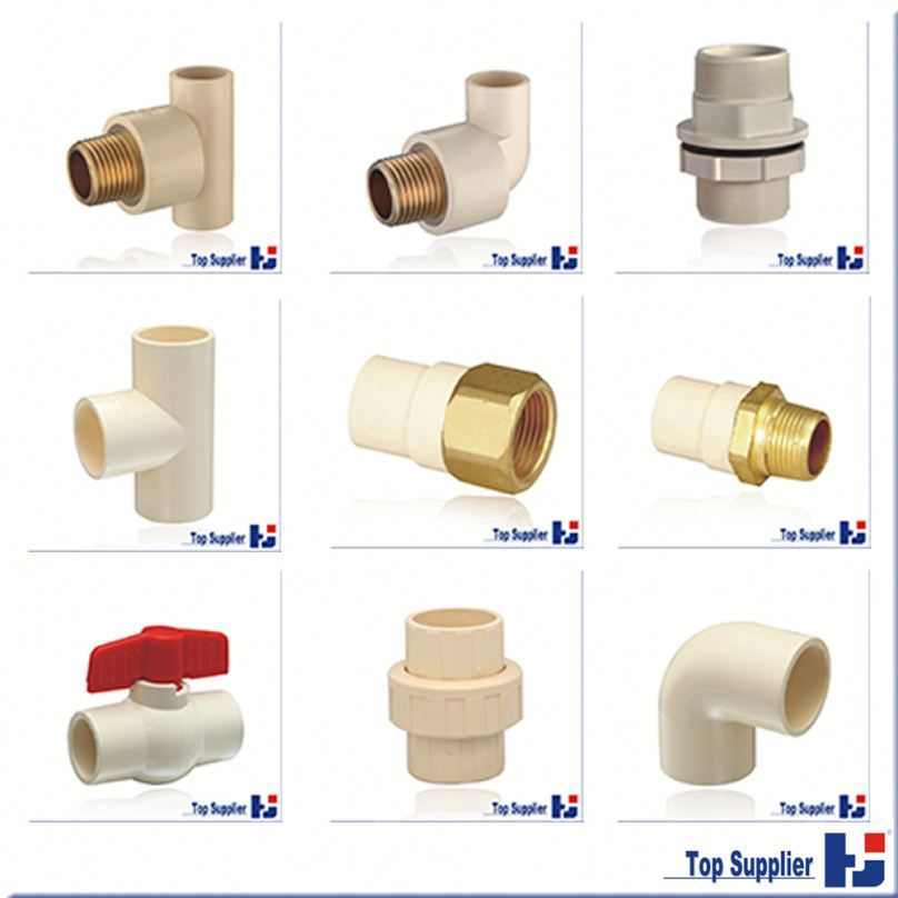 pvc cross tee popular plastic all size pipe fitting
