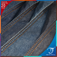 Simple denim fabric hot sale high quality cotton lycra jeans fabric for dress