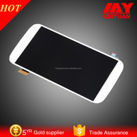 For Samsung Galaxy S4 i9500 i9505 LCD Touch Digitizer Screen + Frame