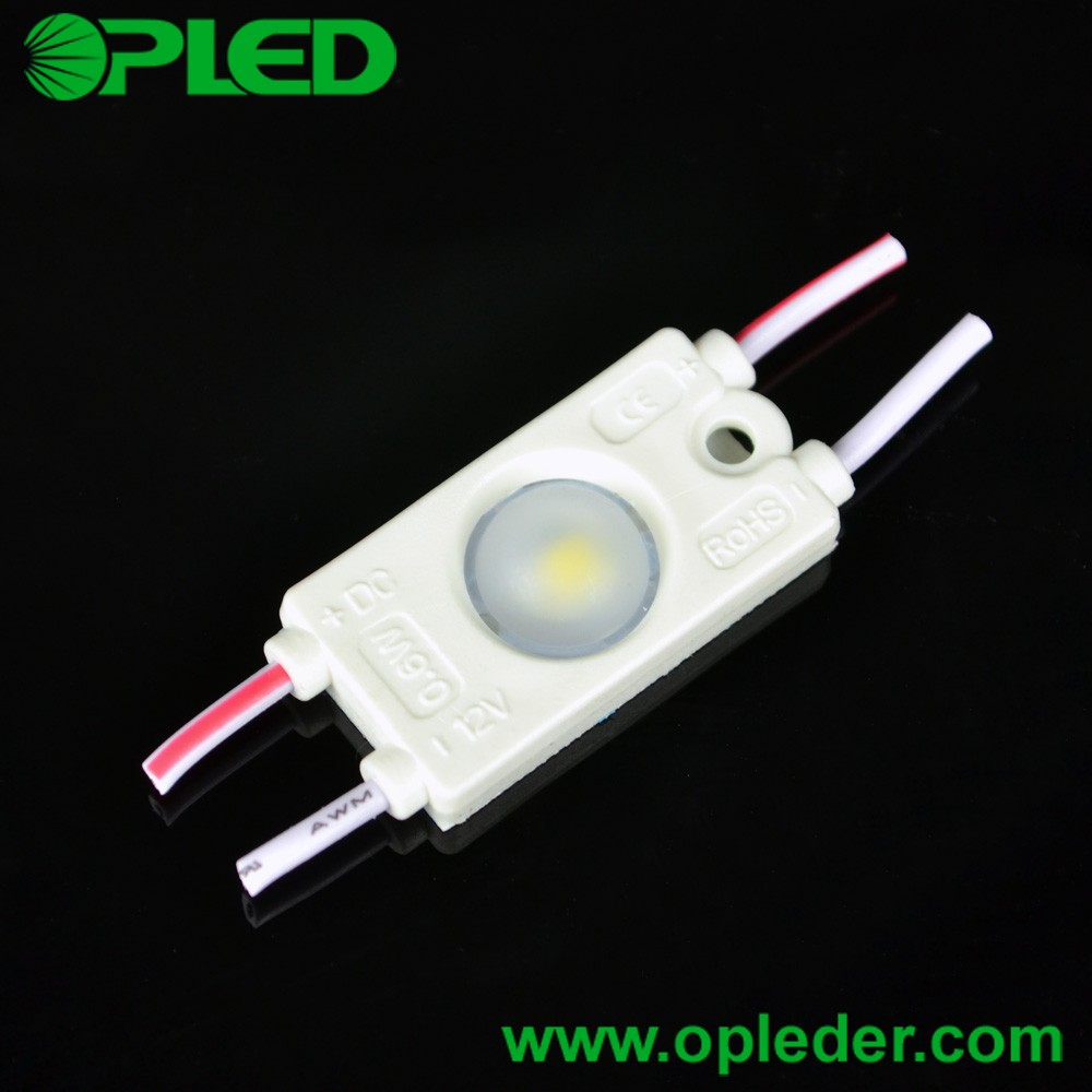 DC12V 0.6W 1 SMD2835 Lens Mini LED module