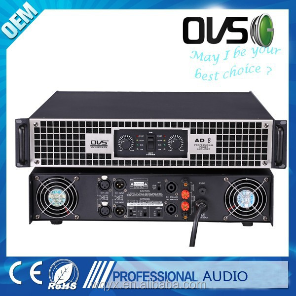 professional pro audio power amplifier