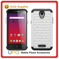 [UPO] New China Products Hard PC Silicone Hybrid Diamond Cell Phone Case cover for LG Class H740