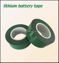 numbers printed lithium battery packaging tape