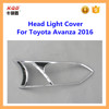 car parts factori in china car exterior accessories headlight cover headlight cover for toyota avanza