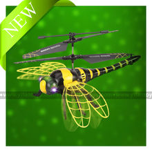 4.5ch RC dragonfly flying dragonfly with light RC helicopter for sale