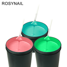 Private Label Custom Logo Color OEM Soak Off Nail Gel Polish Bulk UV Gel 1KG For Nails