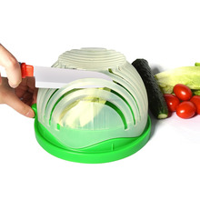 Hot selling salad maker salad cutter bowl vegetable bowl cutter