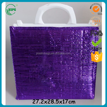 Factory price Cheap high quality durable pretty insulated zipper fancy neoprene lunch tote bag