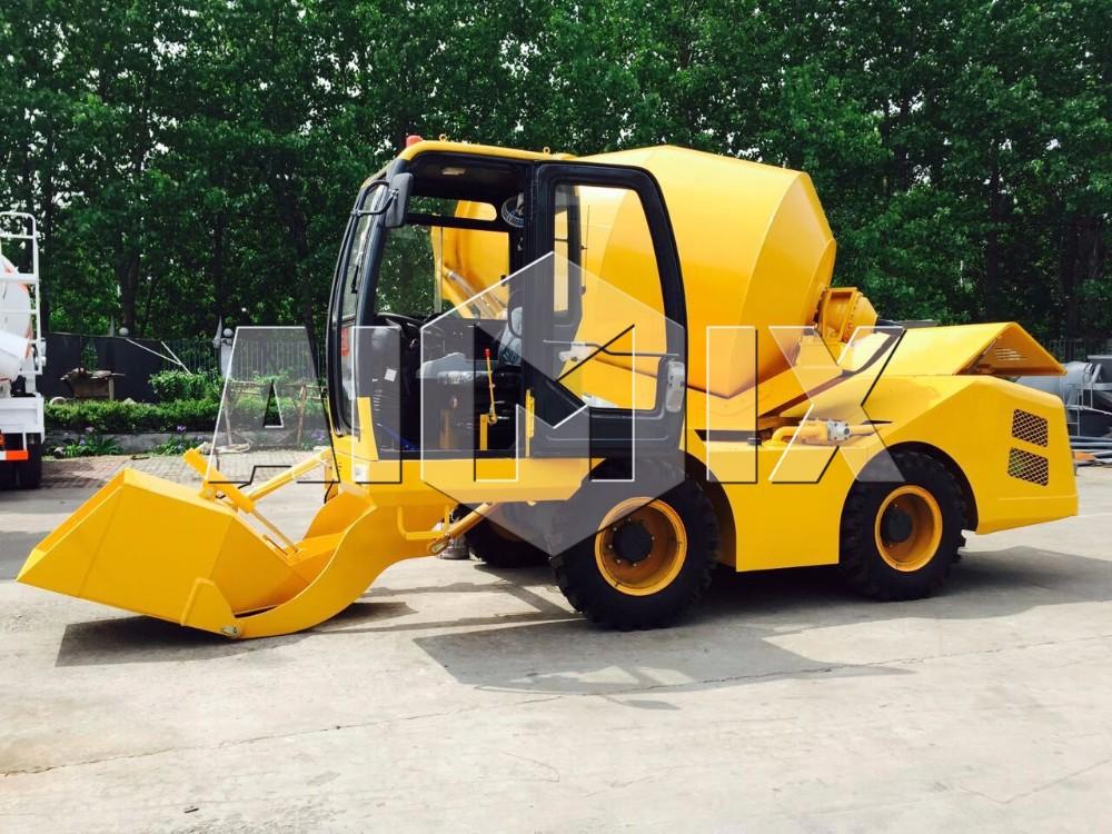 Building machine 3m3/h self loading concrete mixer price on sale