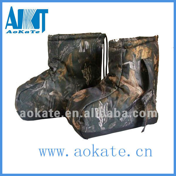 customized warm camo hunting and military boots for protection