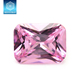 Wholesale Synthetic Pink Cz Diamond, European Machine Cut Pink Diamond