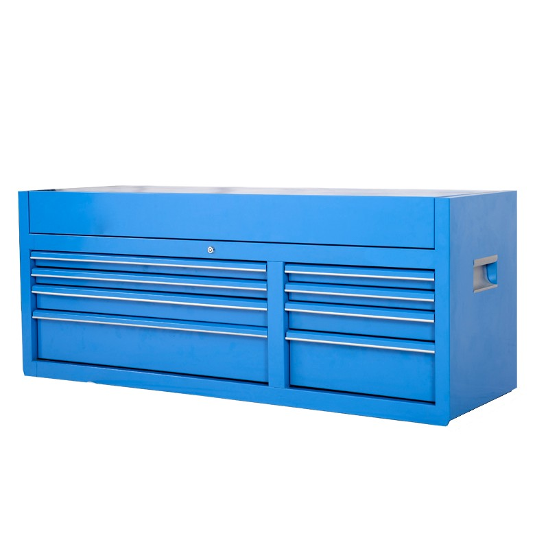 "Brand New 8 Drawers 56"" in Metal tool top chest Roller Cabinet with ball bearing runner"