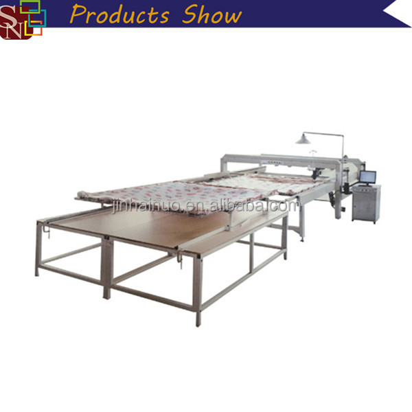 Industrial Bedding Article Production Line Mammut Single Needle Mattress Quilting Machine in China