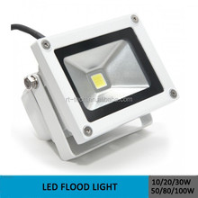 10w 30w 50w outdoor use waterproof 110v 220v rgb color remote control cob chip led flood light