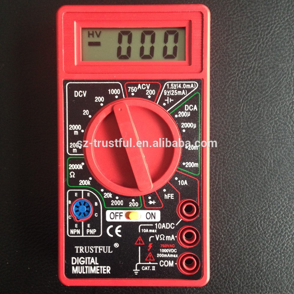 2017 hot style multimeter specifications