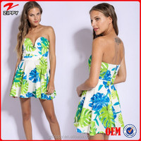2015 Online Shop Alibaba Dress Fashion Printing Style Dress