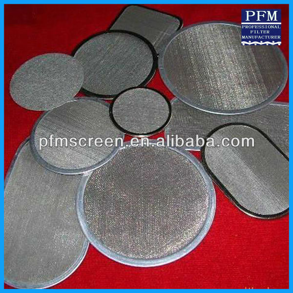 SUS 316 Grade Stainless Steel Wire Cloth Netting Filtering/Sieves