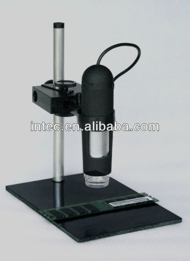 new 1000x USB Digital Microscope + holder(new), 8-LED Endoscope with Measurement Software usb microscope T00058