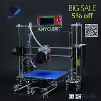 Anycubic Dekstop Transparent 3D Crystal Printer And 1KG 3D Printer Filament As Gift