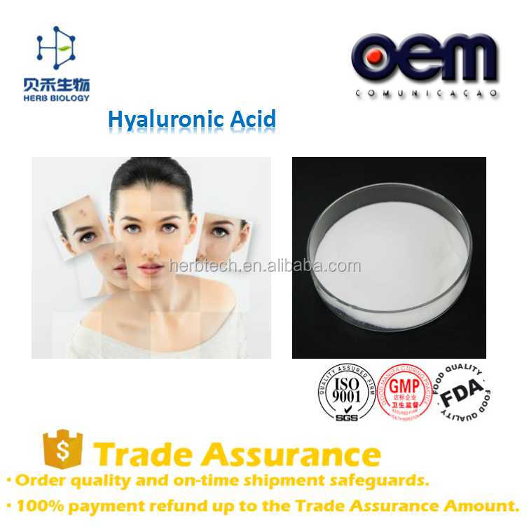 BeiHe Wholesale Foods Containing Hyaluronic Acid/bulk hyaluronic acid